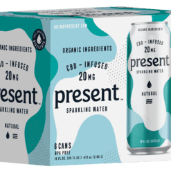 Present - Natural CBD Infused Sparkling Water